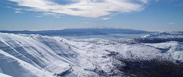 Mzaar Mountains Lebanon