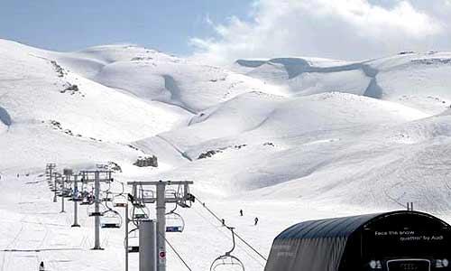 Faraya Mzaar Skiing