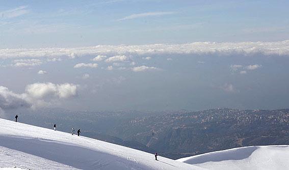 Mzaar Ski Resort Lebanon