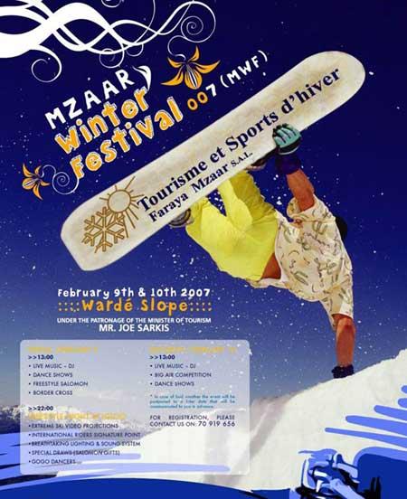 Mzaar Winter Festival 2007