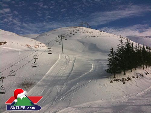 Mzaar Ski Slopes