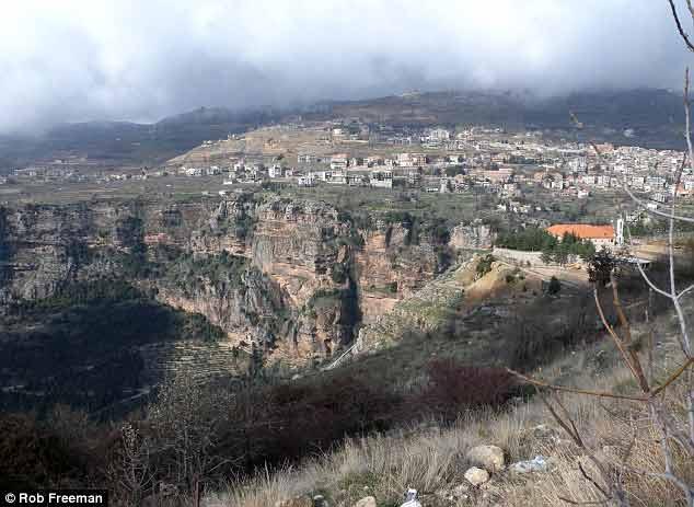 Road to the Cedars Lebanon