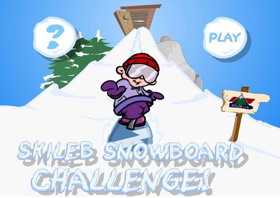Skileb Snowboard Game