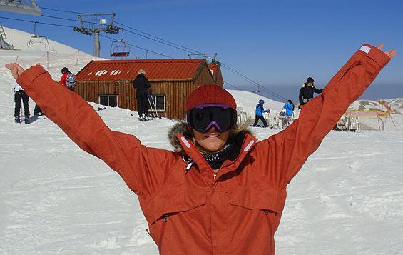 Ski Lebanon Dania Assaly
