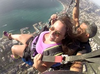 20 minutes Paragliding flight over jounieh with Video footage of your flight for $160 / person with a down payment of $34
