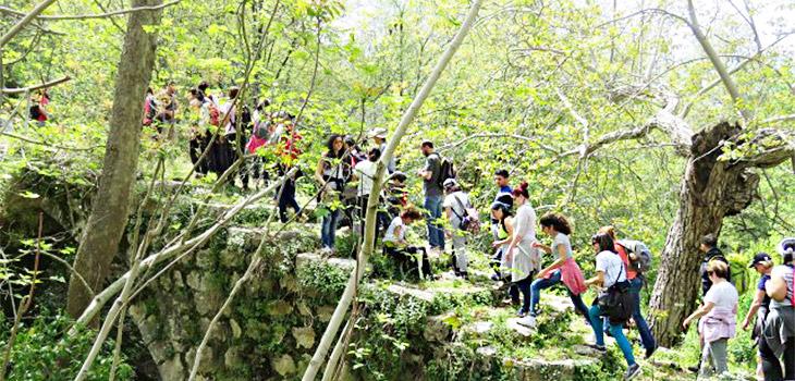 hiking in lebanon with skileb,.com